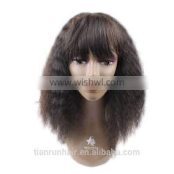 Tianrun kinky straight braided full lace wigs lace front wigs