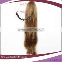 cheap blond ponytail wig with jaw clip