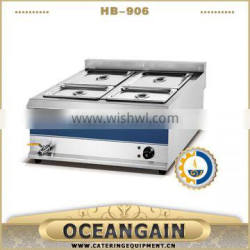 HB-906 Stainless Steel Electric Bain Marie Equipment (6-head)
