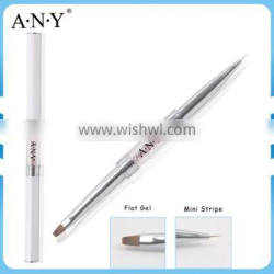 ANY Nail Artist Design Gel Liner Painting Two Side Nail Art Brushes Wholesale