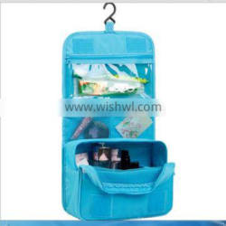 Alibaba best sell women promotion PVC and PU makeup cosmetic bag