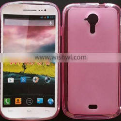 PVC Material plastic pudding pouch For Wiko Cink Five