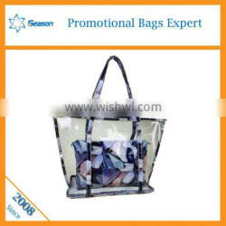 Eco beauty cosmetic bag clear cosmetic bag for beach bags cosmetic Supplier's Choice