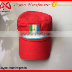 HOT NEW 100% Cotton Twill Customize Government Official Vote Cap Military Hat
