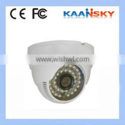 2014 New hot sale very cheap camera dome day and night ccd dome camera installation