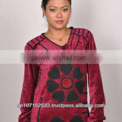 ladies blouse and top