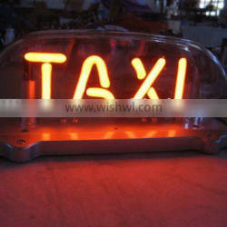 12V neon taxi sign CE/ROHS