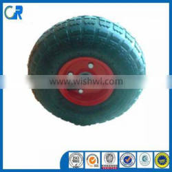 China Pneumatic tires 10 inch Rubber wheel