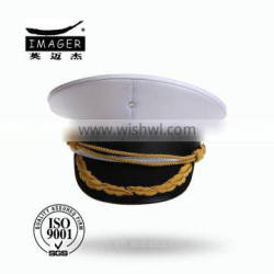 Customized Air Defence Forces Warrant Officer Cap with Gold Embroidery