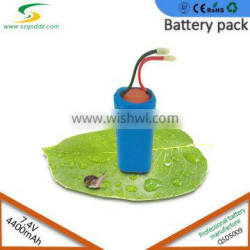 Authentic lithium ion 18650 battery 7.4V 2200mah~12000mah rechargeable battery pack