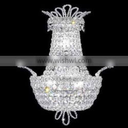 Contemporary Crystal Wall Lamp for Bathroom