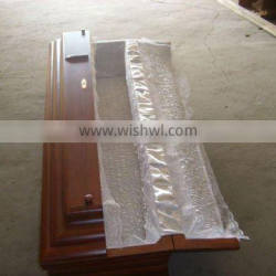 cheap funeral coffin with water painting