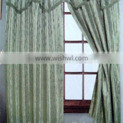 Wholesale 100% Polyester Fancy Jacquard Hotel Curtain