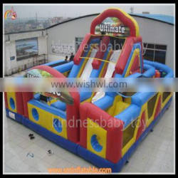 Cheap Price inflatable adult bouncy castle ,inflatable combo with slide for sale