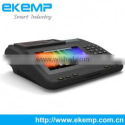7 Inches Android Restaurant Electronic Billing Machine Support Cash Drawer
