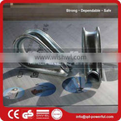 Zinc Plated G414 Wire Rope Thimble