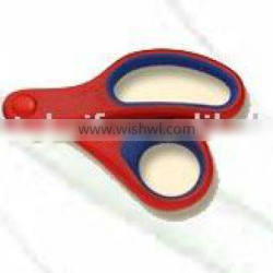 soft grip student scissors with roud tip blade