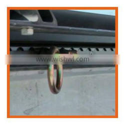 DOUBLE stud fitting with round ring with competitive price
