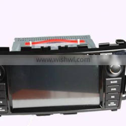 Pure Android 4.4 multi-touch screen car dvd player for 8inch New Tenna 2013