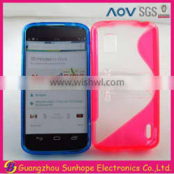 Nexus 4 E960 with stand tpu and pc cell phone case