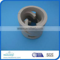Ceramic Pall Ring( random tower packing)used in Oil Refining Tower