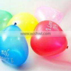 Made in China!Meet Nitrosamines detection! latex hearted balloons