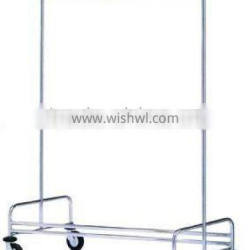 High quality platform luggage cart/hand truck/Laundry trolley for hotel