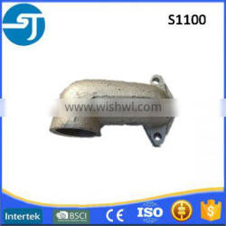 S1100 made in China inboard diesel used iron export exhaust air pipe