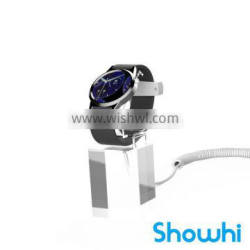 Showhi security display protect alarm system acrylic watch display stand YJ-037