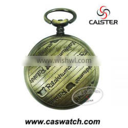 2015 Best selling Custom Pocket watch with quartz movt