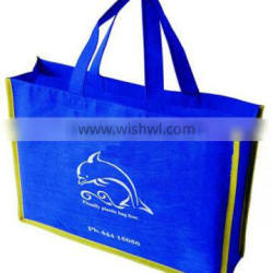 high quality blue non woven tote bags