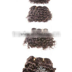 No Chemical Hair Extension Double Layers 14 Inch