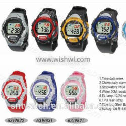 SNT-LR631 latest cheap digital watch with many colors