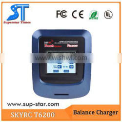 SkyRc T6200 DC 200W Balance Charger /Touch sensitive color LCD display supernova sale