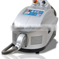 Newest technology IPL beauty equipment for skin care&hair removal with laser technology TM500
