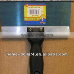 8'' Plastic handle with stainless steel putty knife wall scrapper
