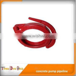 DN125mm concrete pump snap clamp, quick release clamp with pin