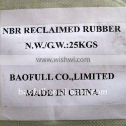 competitive Butyl, NBR, Natural Reclaimed Rubber