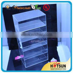 Wholesaletop quality acrylic display stand for cell phone accesories