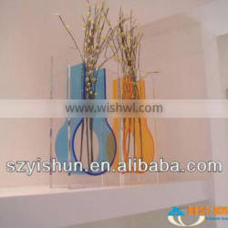 Manufacturing clear acrylic vase tall flower acrylic vases