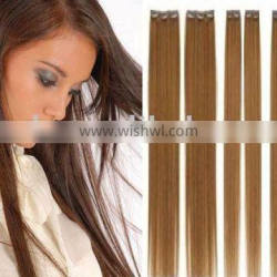 hot sale clip-in straight human hair extension