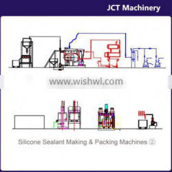 machine for making adhesive for cast iron