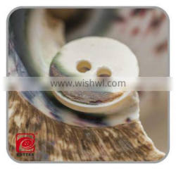 Garment accessories natural shell button for men's shirt with reasonable price