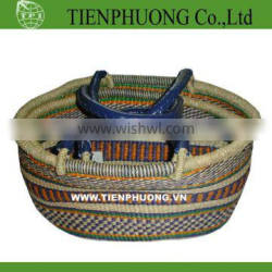 Lady bags handbags collection/seagrass bags for shopping