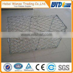 Hot dipped galvanized or PVC coated gabion baskets / gabion box (manufacturer) ISO9001