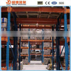 Heavy weight pallet racking system
