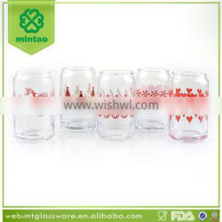 16oz soda can glass cup
