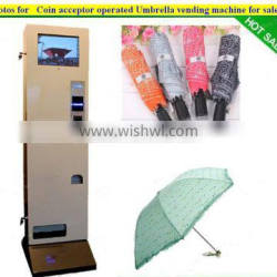 Coin acceptor operated Umbrella vending machine for sale