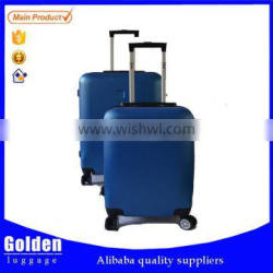 2 pcs high quality ABS PC trolley luggage top brand Haice made in China