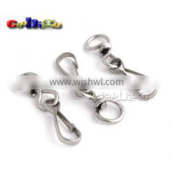 Metal Swivel Snap Hooks For Paracord Lanyards Keychain Carrying Bags Luggage #FLQ132